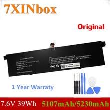 7XINbox 7.6V 39Wh 5107mAh/5230mAh Original R13B01W R13B02W Laptop Battery For Xiaomi Mi Air 13.3