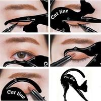 1 pc new cat line eye makeup eyeliner stencils