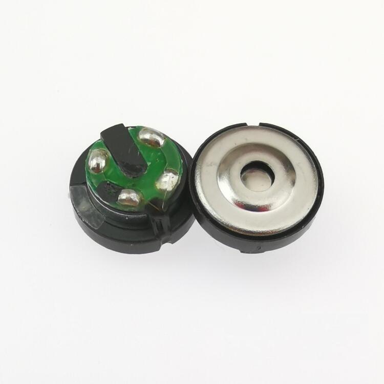 Unidad de altavoz de 10,4mm Membrana de berilio de alta resolución 32 ohmios 2 uds