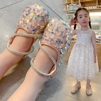 bling bling sequins girls princess shoes children leather shoes kids single shoes soft soled non slip performance shoes 3 13t