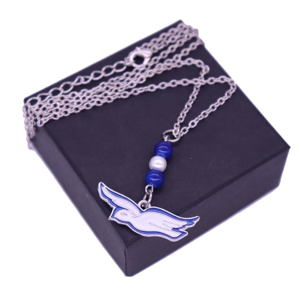 Joyería de regalo Zeta Phi Beta ZPB de la sociedad del collar de la paloma