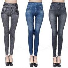 Mode Frauen Denim Jeans Soild Farbe Dünne Jeans Für Frauen Sexy Stretch Bleistift Hosen Dünne Lange Hosen Frau Jeans 2020
