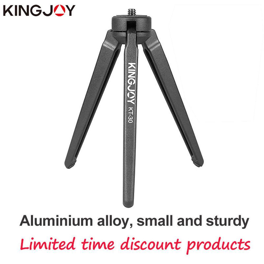 Mini trípode cámara para teléfono soporte de aluminio todos los modelos soporte de vídeo Stativ móvil Flexible Digital DSLR