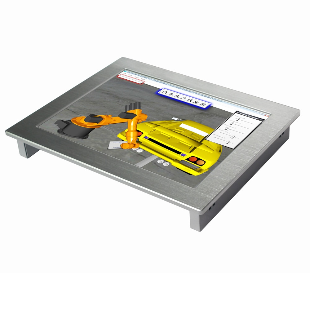 Touch Screen 15 inch Industrial Panel PC IP65 Waterproof 4GB RAM 64GB SSD High brightness tablet computer