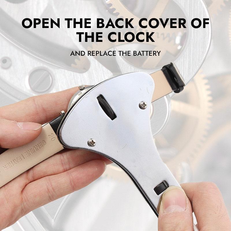 34 Three Paws Watch Repair Kit Professional Spring Bar Tool Set,Watch Battery Replacement Tool Kit,Watch Band Link Pin Tool Set