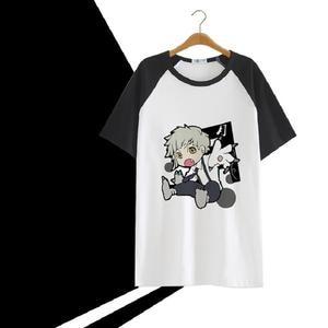 High-Q Bungo Stray Dogs pure print T-Shirt tee tshirt punk rock Nakano Bungo Stray Dogs comfortable loose t-shirt tshirt tees