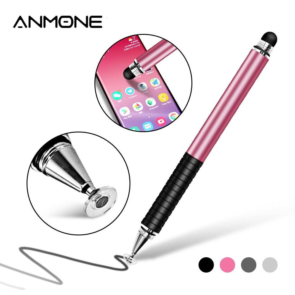 ANMONE 2 in 1 Universal Touch Screen Pen For Phone Capacitive Tablet Stylus Pen for Mobile Phone Sty
