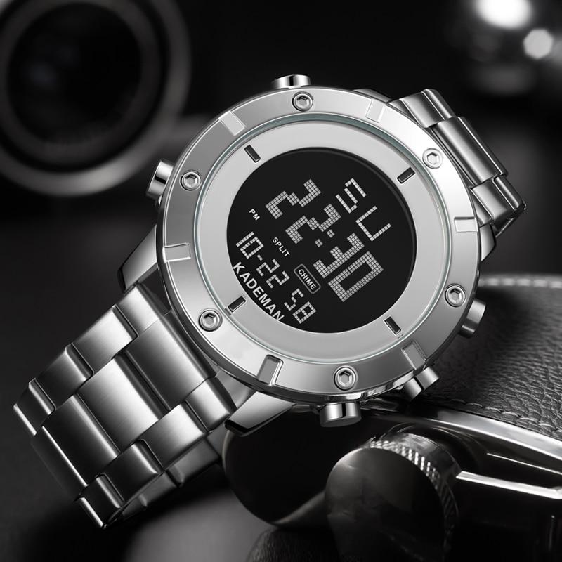 AliExpress - KADEMAN Male Military Sports Watches Electronic Mens Waterproof LED Digital Top Brand Luxury Clock Men Watch Relogio Masculino