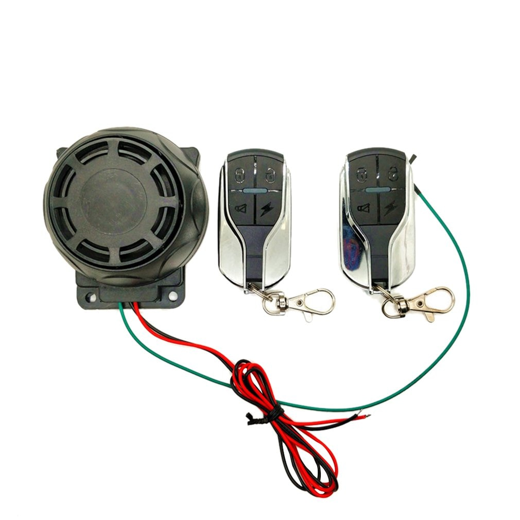 Dual Remote Control Motorcycle Alarm Security System Motorcycle Theft Protection Bike Moto Scooter M