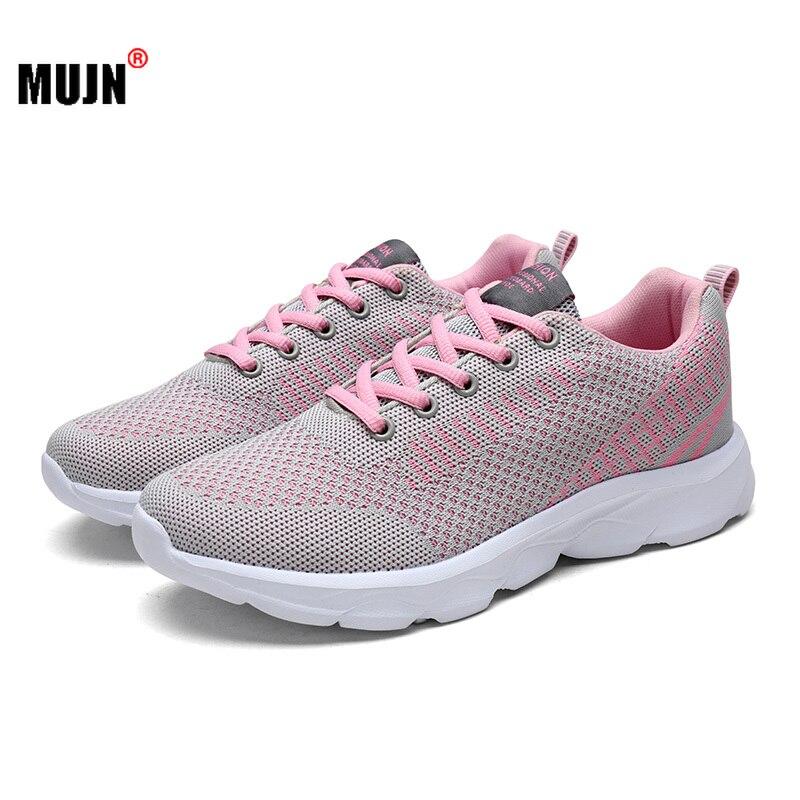 Zapatillas de deporte antideslizantes para Mujer, Calzado informal transpirable cómodo para correr...