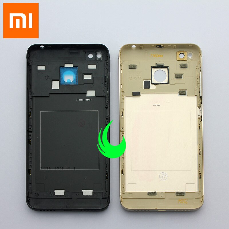 New Original Back Housing For Xiaomi Redmi 4X Battery Back Cover Rear Door Case For Redmi 4X w Power Volume Buttons+Camera Lens enlarge