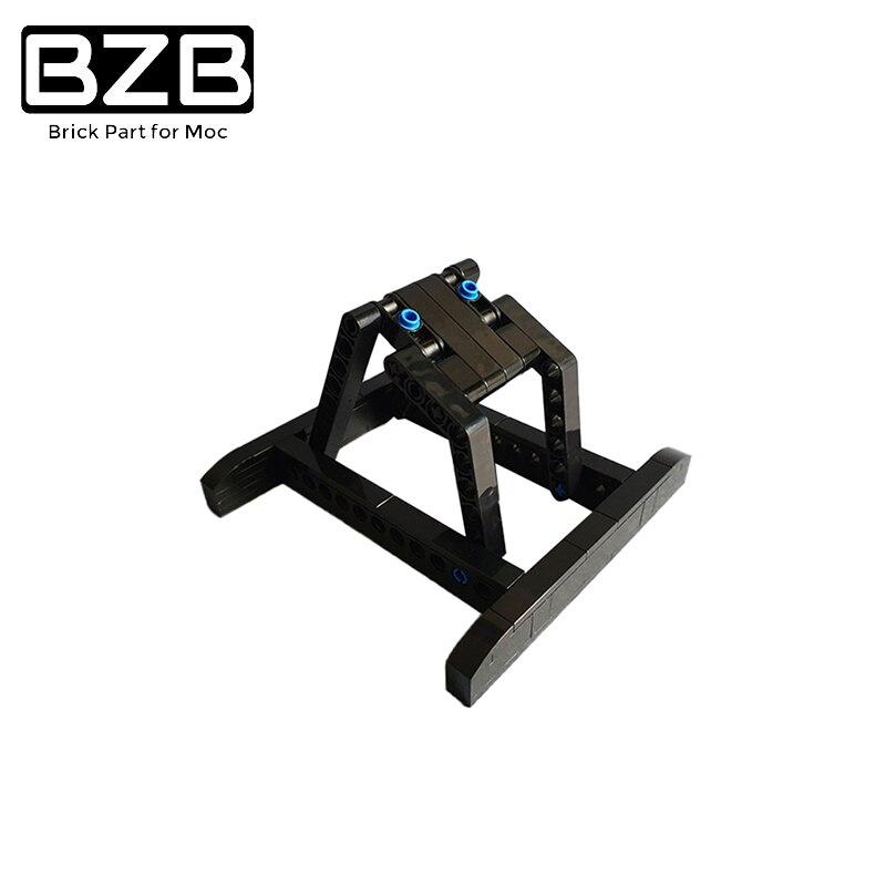 BZB MOC 32779 используется для 75249Y крыло MOC, кронштейн космического корабля, показывающий собранную модель космического корабля для детей игрушк...
