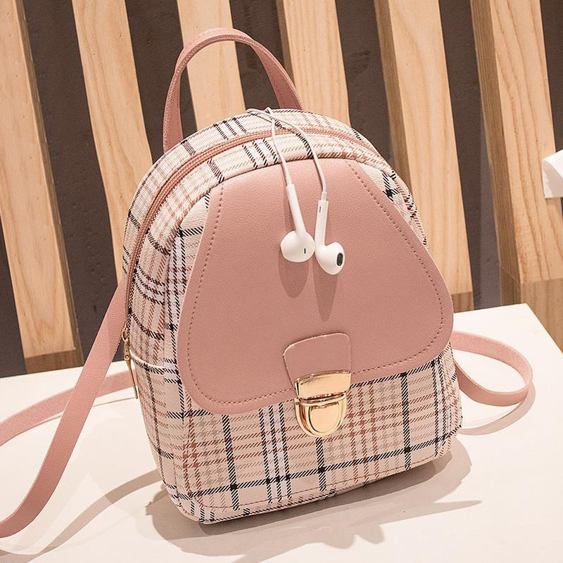 Women Shoulder Bag Fashion Pure Color Casual Tote Outdoor Bag Canvas Handbag Zipper Messenger Messen