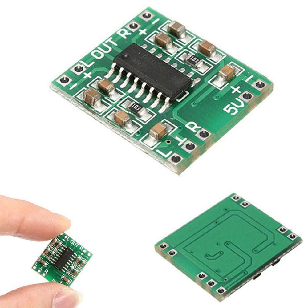 ¡Lo más nuevo y práctico! 5 uds DC 5V Mini Clase D amplificador Digital tablero LCD Módulo de Audio PAM8403