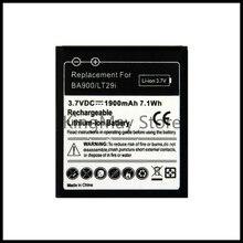 Pour Sony BA900 batterie c1905 pour Sony Ericsson Xperia TX LT29i S36h C2105 E1 J L M C2104 C1904 C1905 ST26i batterie ba900