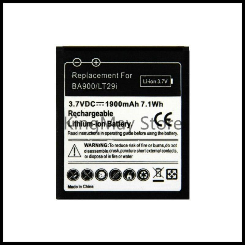 Voor Sony BA900 Batterij C1905 Voor Sony Ericsson Xperia Tx LT29i S36h C2105 E1 J L M C2104 C1904 C1905 ST26i Batterij Ba900