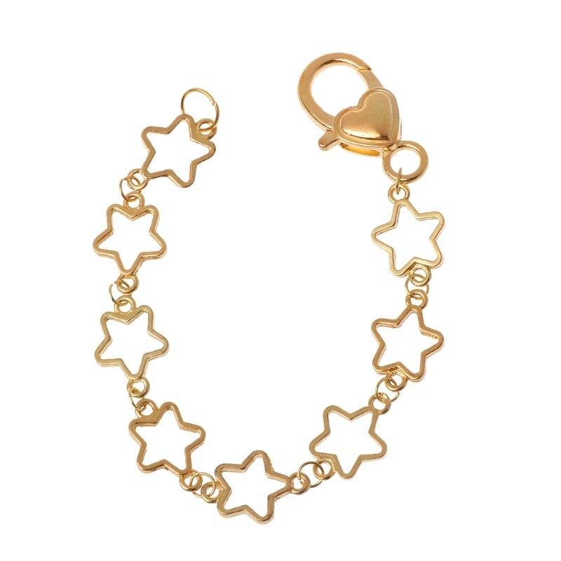 DIY Metal en blanco marco cadena pulsera corazón redondo bisel ajuste UV resina joyería Y4QB