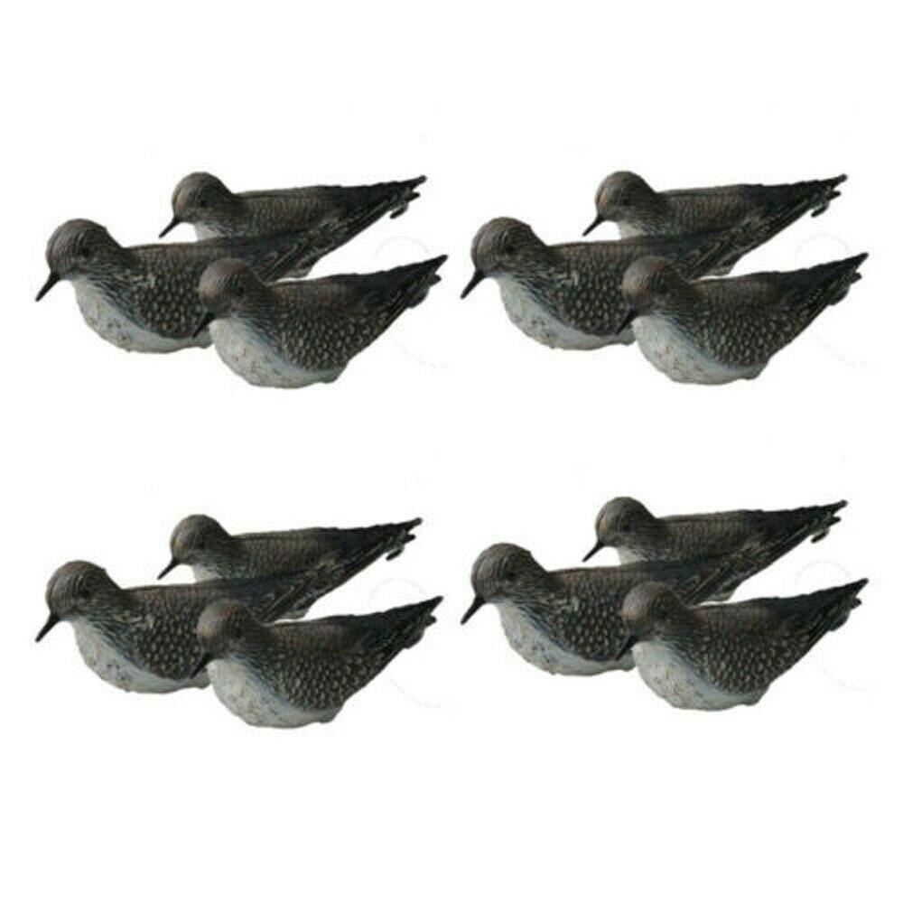 3/6/12 pçs pacífico dourado plover falso pluvialis fulva shorebird caça chamariz