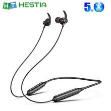 DD9 tour de cou sans fil écouteur Sport écouteur écouteur Attraction magnétique Bluetooth cou casque pour smartphone tablette avec micro