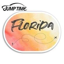 Jump Time for Florida Vinyl Stickers America USA Fun Sticker Laptop Luggage Car Bumper Decal Waterpr
