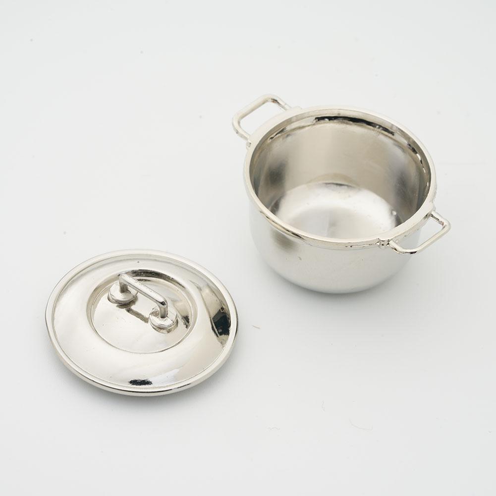 Металлический микро-отпариватель для приготовления пищи, аксессуары для дома, миниатюрные игрушки, декор для кукольного домика
