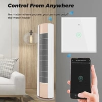tuya wifi boiler water heater switch wireless touch wall on off electrical light smart for google home alexa with google home