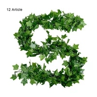 artificial plants creeper green leaf ivy vine for home wedding decor wholesale diy hanging garland artificial flowers decoration