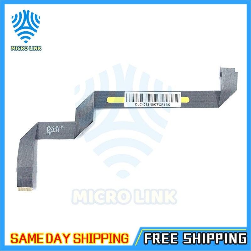 """Original novo 593-1603-b 593-1603-a para macbook air 11.6 """"a1465 trackpad touchpad cabo de fita flexível 2013 2014 2015 md711 mjvm2"""