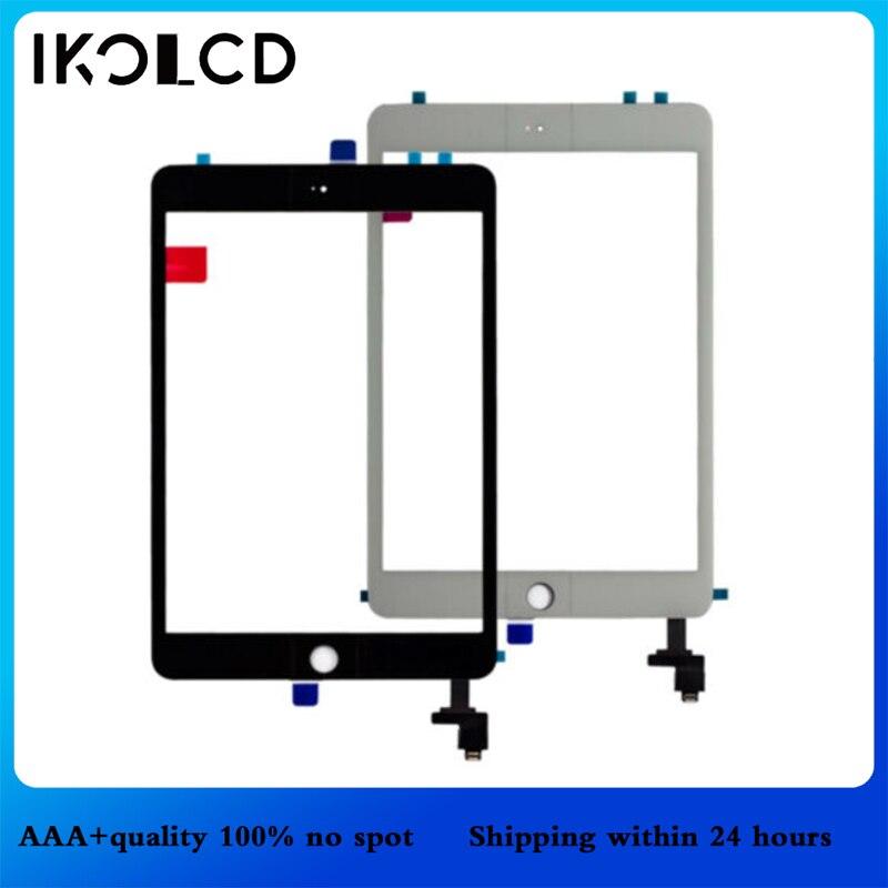 Para ipad mini tela de toque para ipad mini 2 1 digitador da tela para ipad mini1 a1432 a1454 a1455 mini2 a1489 a1490 a1491 vidro