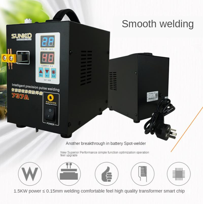 Battery spot welding machine 220v 110v welding machine small miniature household handheld diy pedal lithium battery rechargeable