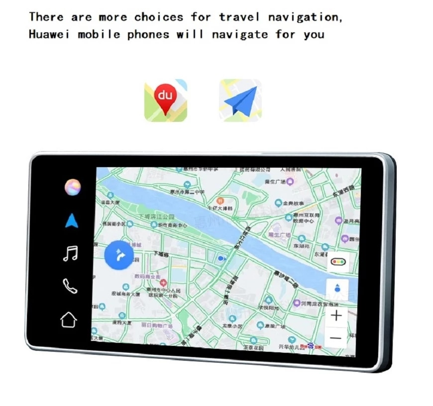 Wireless CarPlay  USB  Auto Navigation Player Smart Mirror Link Accessories For Refit HUAWEI Hicar  Car System For BMW Toyota