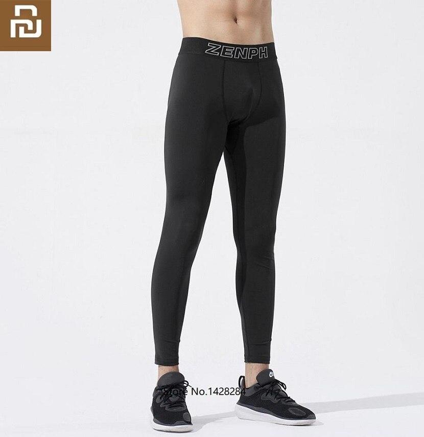 Youpin ZENPH-بنطلون رياضي للرجال ، ملابس رياضية ضيقة للتنفس ، تجفيف سريع ، بدلة رياضية للتدريب على اللياقة البدنية