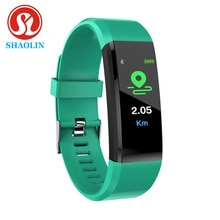 SHAOLIN Bluetooth Smart Bracelet Men Blood Pressure Smart Watch Sports Band Health Sleep Tracker Mot