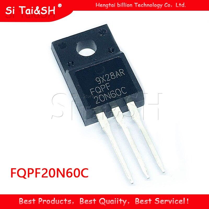 10 Stks/partij 20N60 FQPF20N60C FQPF20N60 600V 20A Lcd Fet Nieuwe Originele TO-220F