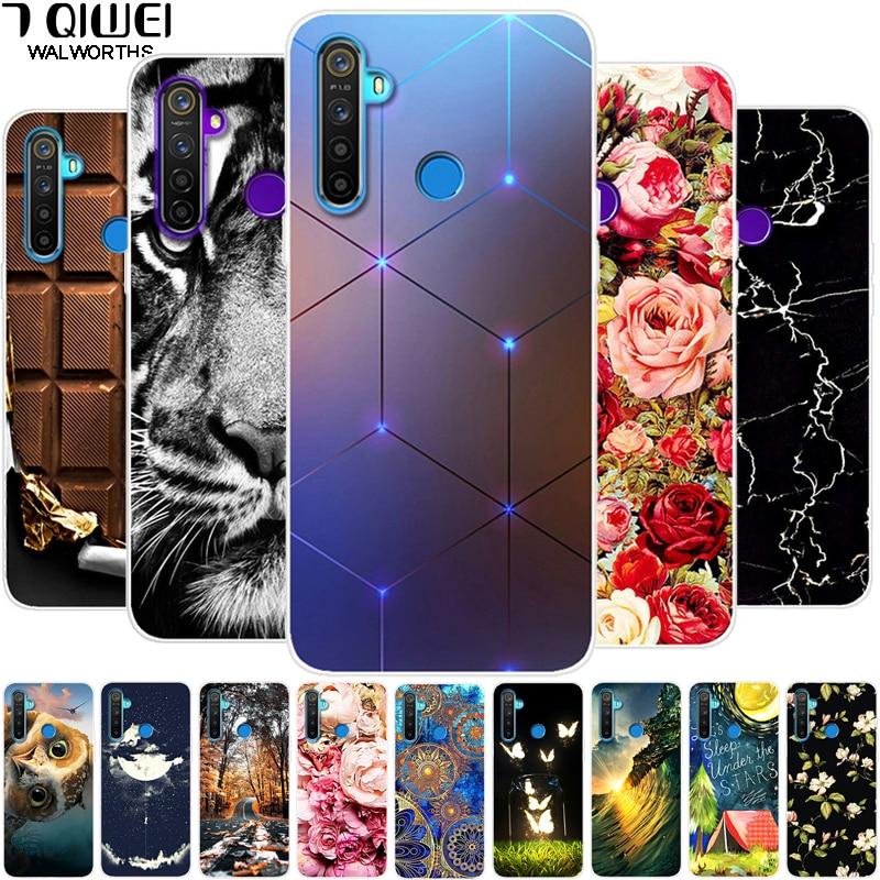 For OPPO Realme 5 Case Silicone soft Phone cases For OPPO Realme 5 Pro Case On Realme C3 Realme5 TPU Back Cover Cool Realme Q