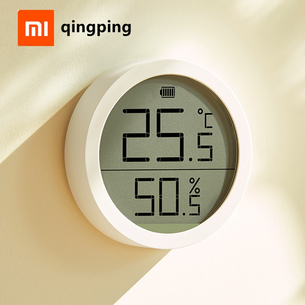 Xiaomi Qingping Digital Thermometer & Hygrometer Monitor Lite c Electronic Ink Screen Data Automatic