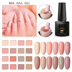 Mtssii Nude Farbe Nagel Gel Polnischen Maniküre Semi Permanent Matte Basis Top Mantel UV Führte Nägel Gel Lack Tränken Weg nail art Lack