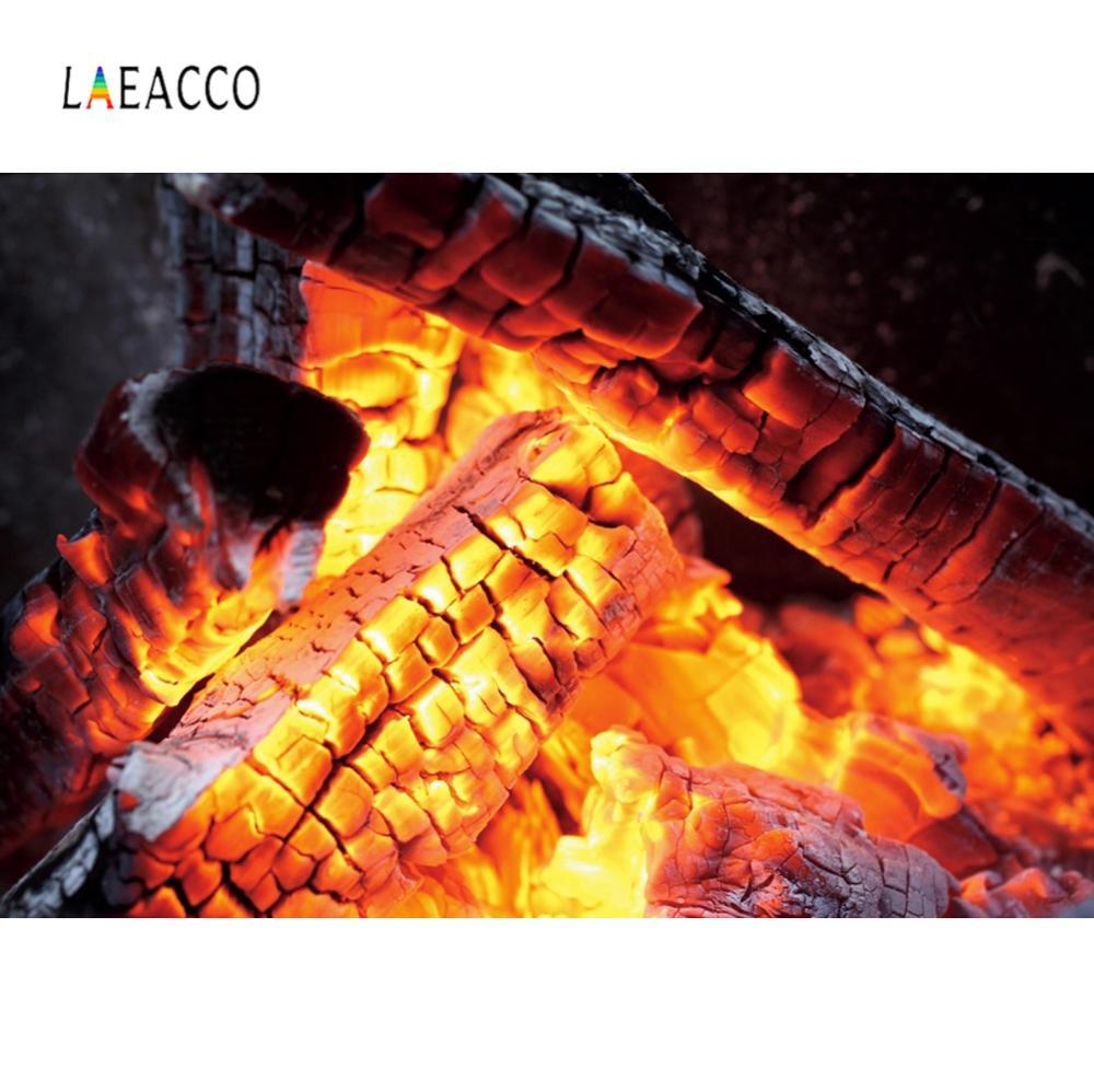 Laeacco fuegos artificiales chimenea fuego rojo fotografía photocall fondo fotográfico personalizado para estudio fotográfico