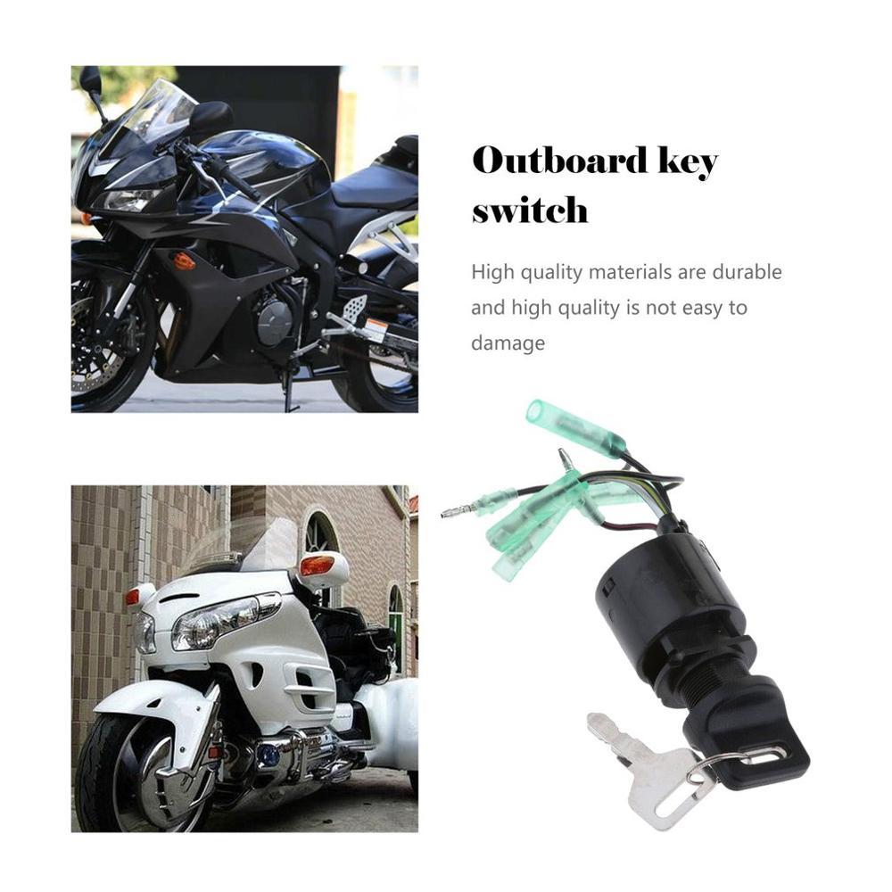 Llave de interruptor de encendido para Honda fuera de borda reemplaza 35100-zv-013 accesorios de reparación y modificación de automóviles