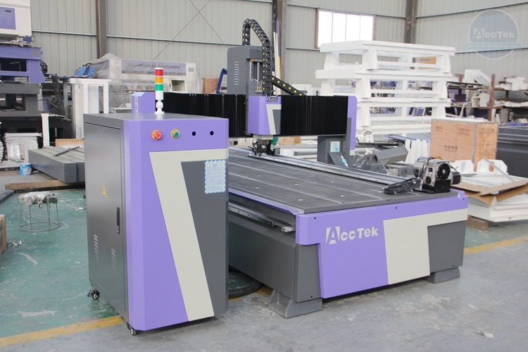 Rotary Axis CNC Cutting Machine Jinan Wood Trimmer CNC Router 1325 CNC Milling Cutter Machine enlarge