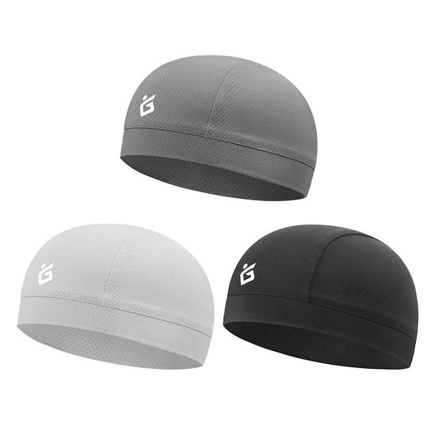 Cooling Skull Cap Breathable Summer Cycling Caps Ice Fabric Anti-UV Bicycle Head Scarf Helmet Liner Sports Fishing Running Hat