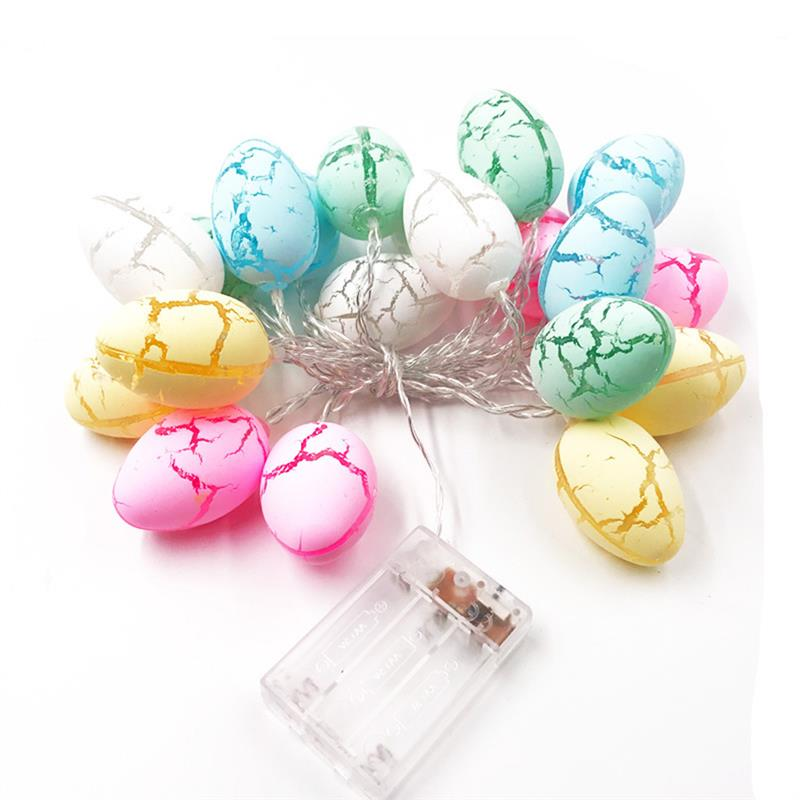 10/20/30LED Easter Egg Led Light Bunny Rabbit String Fair Lights For Easter Party Wedding Decoration Easter Decorations For Home