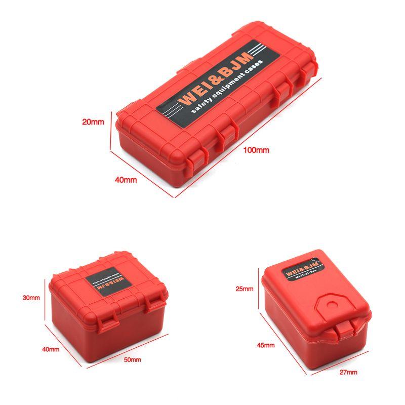 Plastic RC Car Storage Box Decoration Tool for traxxas TRX4 Axial SCX10 90046 D90 1/10 RC Crawler Accessories   203E enlarge