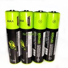 4 pièces/lot ZNTER 1.5V AAA batterie rechargeable 600mAh USB rechargeable batterie au lithium polymère charge rapide via câble Micro USB