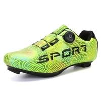 professionele atletische fiets schoenen mtb fietsschoenen mannen zelfsluitende racefiets schoenen sapatilha ciclismo sneakers