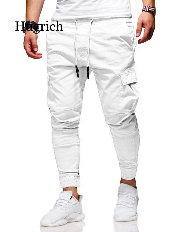 Men Pants Thin Fashion Casual Jogger Pants 2021 Streetwear Cargo Pants Men's Multi-Pockets Trousers Fitness Gyms Sweatpants Mens