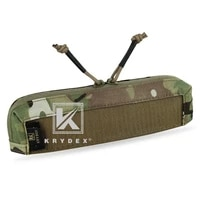 krydex tactical zipper insert pouch for mk3 chest rig chassis full length double zipper panel accessories storage pocket mc