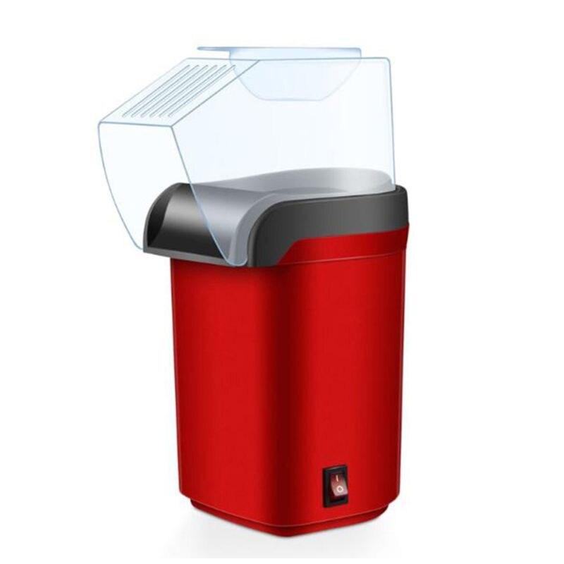 Máquina de palomitas de aire caliente eléctrica de fácil transporte, máquina Retro de cine, casa, comida, Jan.2