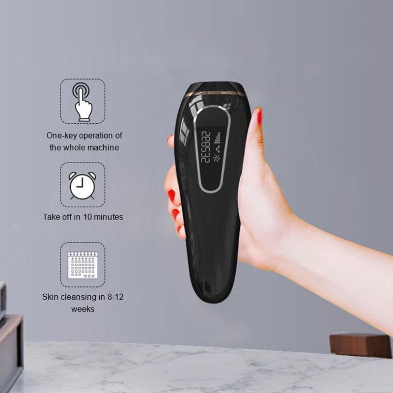 IPL Photon Epilator Laser Hair Removal Device Underarm Shaver Lip Hair Hair Removal Device Photon Skin Rejuvenation Epilator enlarge