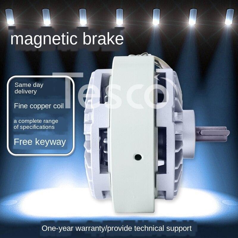 Control de tensión de 0,6 ~ 40KG freno magnético de polvo de eje único dc24v embrague magnético de polvo FZ12A-1 nuevo